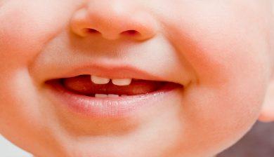 Langes Stillen gefährdet Kinderzähne