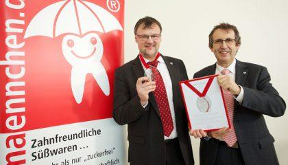 Mit der Friedrich-Römer-Ehrenmedaille ausgezeichnet