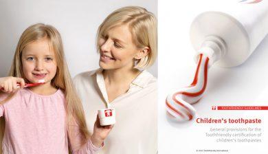 Neue Kriterien zur Auszeichnung von Kinder-Zahnpasten